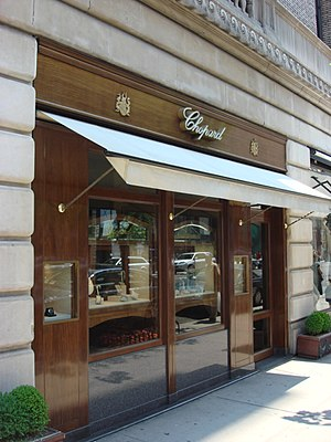 Chopard - An outlet at Madison Ave, New York