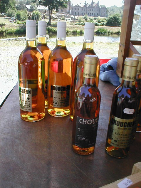 Chouchenn mead of Brittany