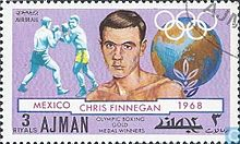 Chris Finnegan 1971 Ajman stamp.jpg