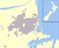 Christchurch, NZ blank map.png