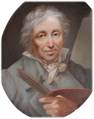 Christian August Lorentzen - Self-portrait