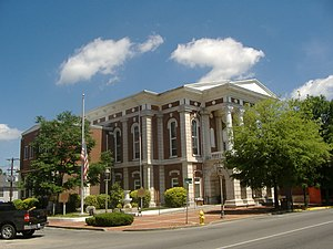 Christian County courthouse in Hopkinsville