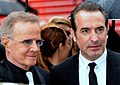 Christophe Lambert et Jean Dujardin Cannes 2019.jpg