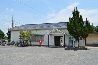 Chūden Station Railway station in Komatsushima, Tokushima Prefecture, Japan