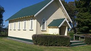 Putāruru Town in North Island, New Zealand
