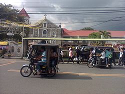 The Saint Gregory the Great Parish Church, along A. Mabini St. in Poblacion 1, Indang, Cavite