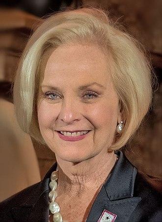 Cindy McCain - McCain in 2018