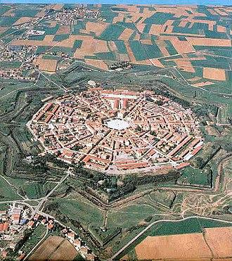 Palmanova - Aerial view of Palmanova