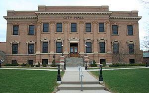 Red Wing, Minnesota - Red Wing City Hall, listed on the National Register of Historic Places