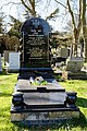 City of London Cemetery and Crematorium polished black grave monument.jpg