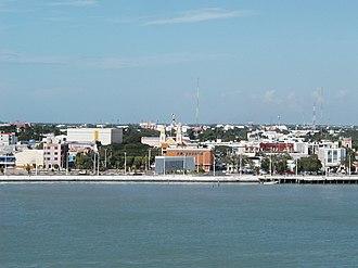 Municipalities of Campeche - Image: Ciudaddelcarmen
