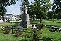 Civil War memorial in Village Green, Swanton, Vermont.jpg