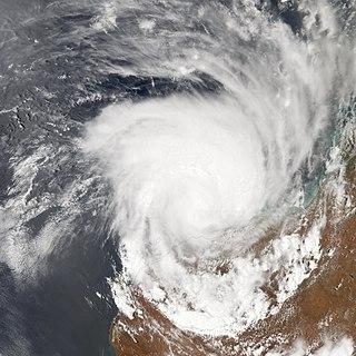 Cyclone Clare Category 3 Australian region cyclone in 2006