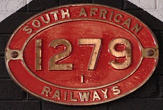 South African Class 1 4-8-0 - Image: Class 1 1279 (4 8 0)