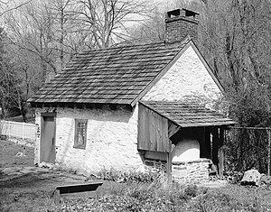 Historic RittenhouseTown - Outbuilding, 207A Lincoln Drive, Fairmount Park