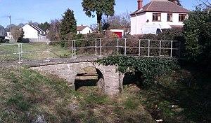 Clawdd-du - Mediaeval bridge over the Clawdd-du