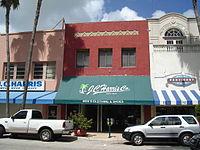 Clematis Street shops