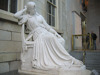 William Wetmore Story - Image: Cleopatra by William Wetmore Story 01