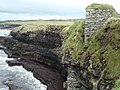 Cliffs and Kilbarron Castle - geograph.org.uk - 942890.jpg