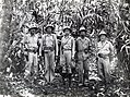 Clifton B. Cates and battalion commanders, 1st Marine Regiment on Guadalcanal, 1942.jpg