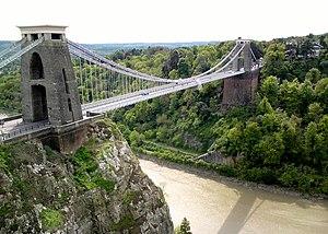 Murder of Joanna Yeates - Image: Clifton Suspension Bridge, Bristol