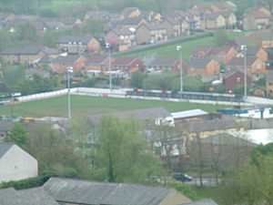 Blackburn Rovers L.F.C. - Clitheroe F.C. ground at Shawbridge