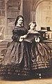 Clotilde with little sister Amalie.jpg