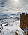 Clouds, Snow, and Chimney Rock (6603764029).jpg