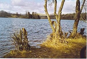 Craigie, Perth and Kinross - Loch Clunie, photograph taken from Craigie