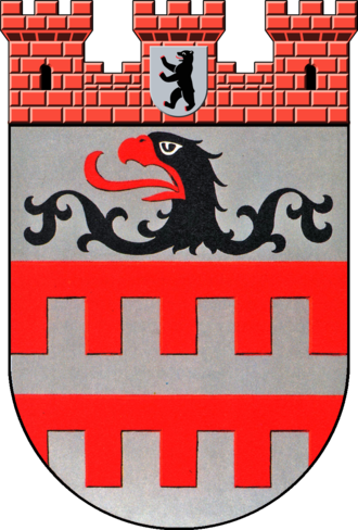 Steglitz - Image: Coat of arms de be steglitz 1956