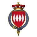 Coat of arms of Sir Giles Daubeny, 1st Baron Daubeny, KG.png