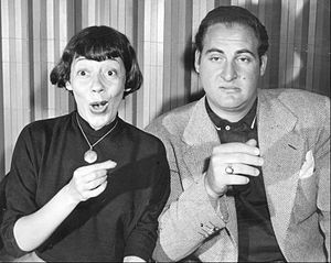 Your Show of Shows - Imogene Coca and Sid Caesar in a 1952 skit.
