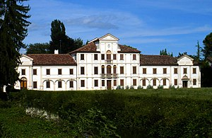 English: Codognè, Treviso, Italy: Villa Toderi...