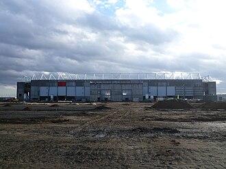 Opel Arena (stadium) - Image: Coface Arena 077