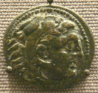 Hellenistic Greece - Coin depicting Cassander, first post-Argead leader of Hellenistic Greece and founder of Thessaloniki