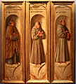 Colantonio, beati silvestro, galbazio e pietro, 1444-50 ca. (gall. cini) 01.jpg