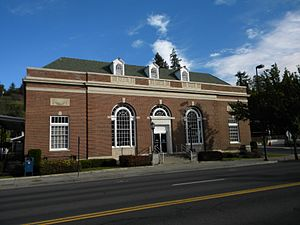 Whitman County, Washington - Image: Colfax Post Office