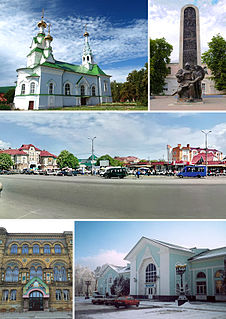 Lubny Place in Ukraine
