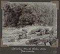 Collectie NMvWereldculturen, RV-A102-1-158, 'Ophalen van de booten over Gransoela'. Foto- G.M. Versteeg, 1903-1904.jpg