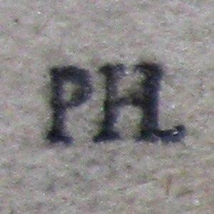 Isabella Brant (drawing) - Collector mark for Prosper Henry Lankrink (L.2090)