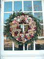Colonial Williamsburg (December, 2011) - Christmas decorations.JPG