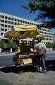 Colorful peanut vendor Pennsylvania Avenue, Washington, D.C., in the 1980s LCCN2011635495.tif