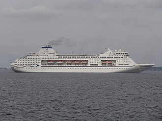 MV Columbus - Image: Columbus turning to port side Tallinn Bay Tallinn 31 July 2017