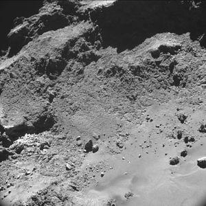 Comet 67P on 26 October 2014 NavCam B.jpg