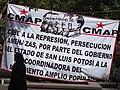 Communist (CMAP) Banner in Plaza - San Luis Potosi - Mexico - 02 (32486148168).jpg