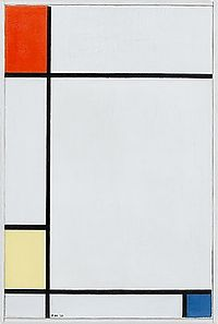 Composition no. III with red, yellow, and blue by Piet Mondrian.jpg