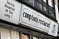 Compton's Restaurant (sign), Saratoga Springs, New York.jpg