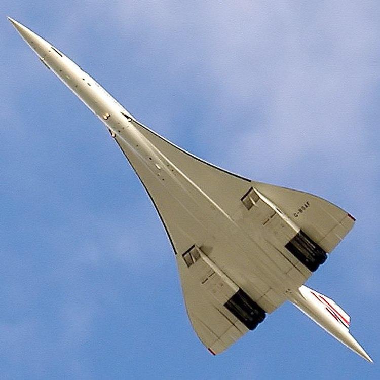 Concorde on Bristol