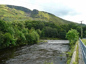 Neath Port Talbot - Image: Confluence of the Twrch with the Tawe geograph.org.uk 914166