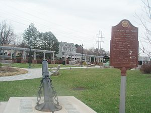 Congers, New York - Historic Congers Railroad Station and Park